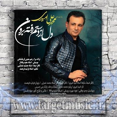 دانلود آهنگ محمد علی امیدی دل از دستم رفته برون