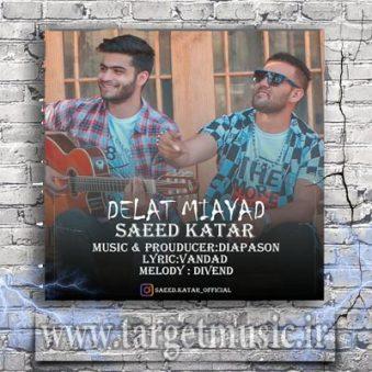 دانلود آهنگ من بمانم تکو تنها تو دلت می آید دلت می آید سعید کاتار